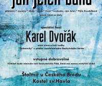 Křest CD a koncert kapely Jan Jelen band